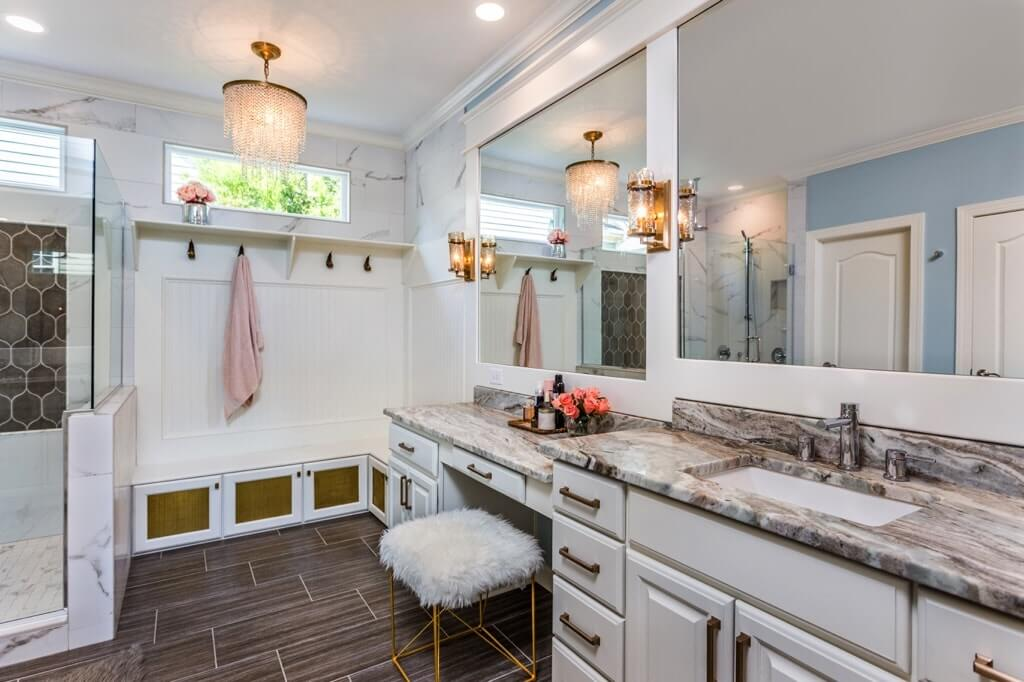 lavish raleigh designs bathroom remodel
